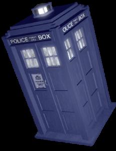 TARDIS left